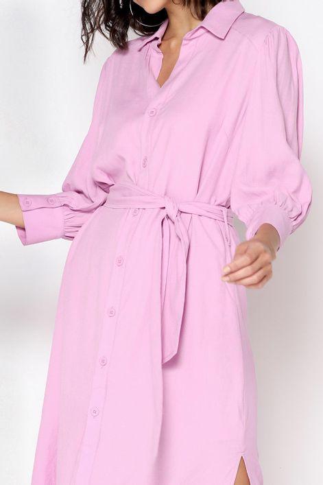 Vestido-chemise-com-faixa-na-cintura-