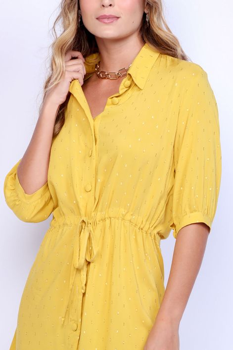 Vestido-chemise-com-amarracao