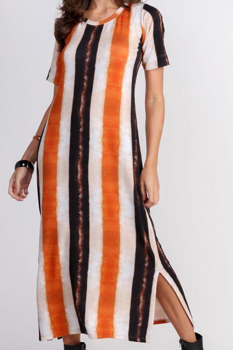Vestido-midi-manga-curta-estampa-trigo
