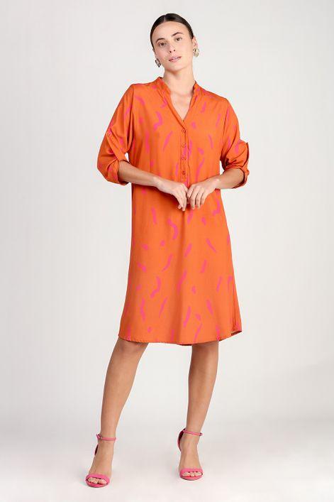 Vestido-chemise-estampa-surpresa